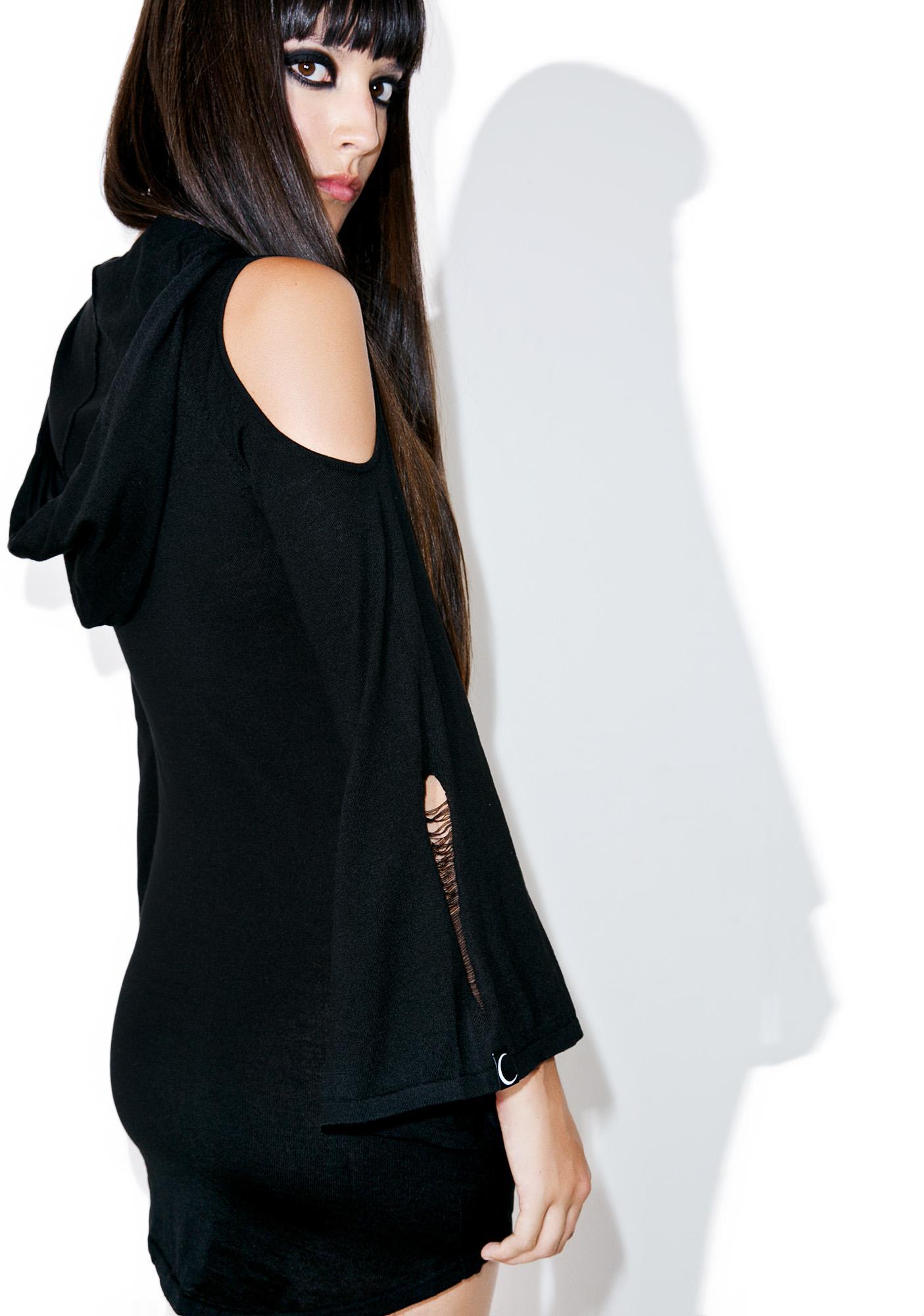 Killstar Dee Spare Knit Dress
