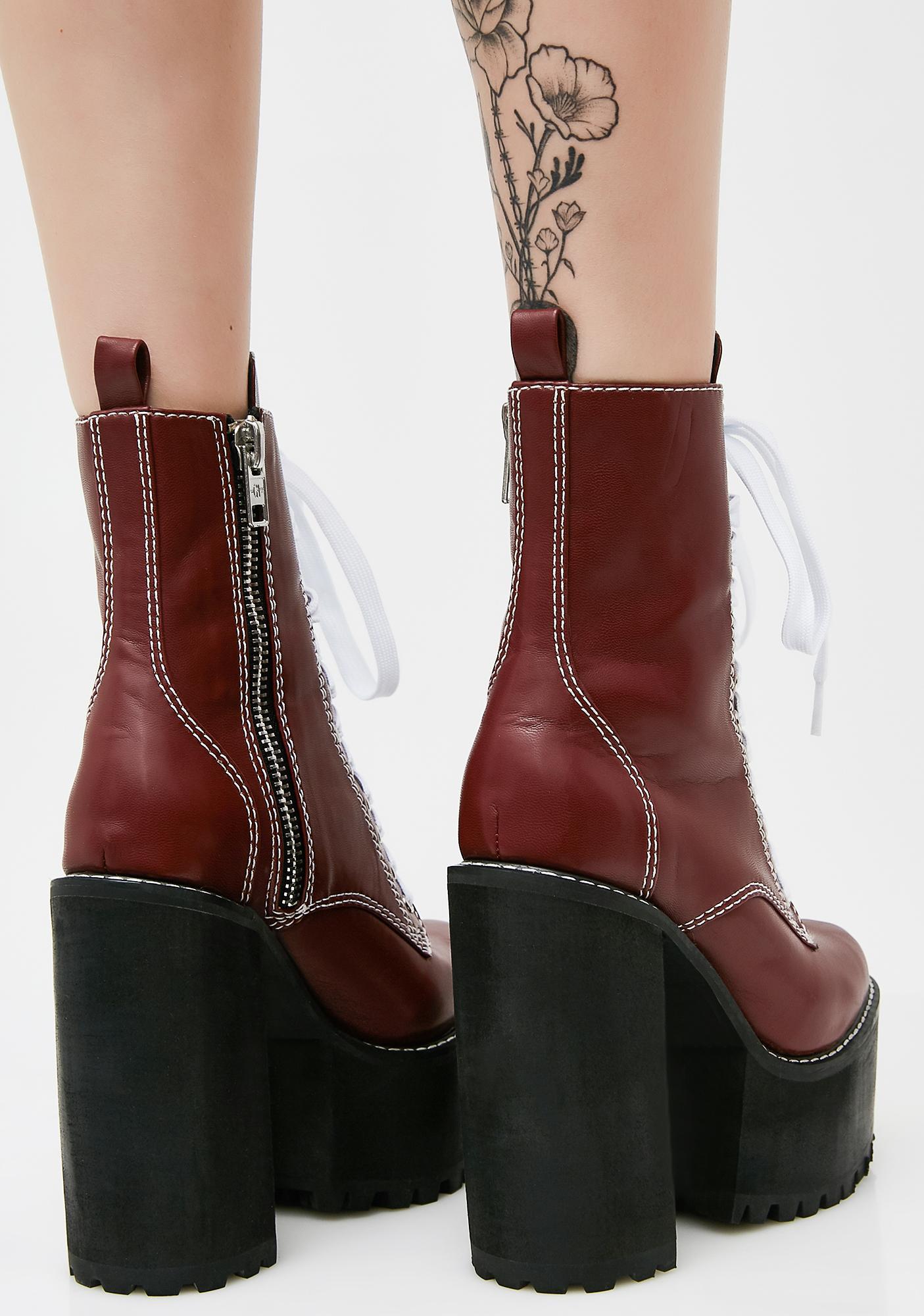 Current Mood Brick Low Nancy Boots