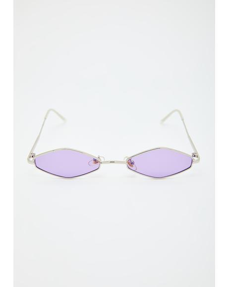 Pixie Ice Empress Tiny Sunglasses