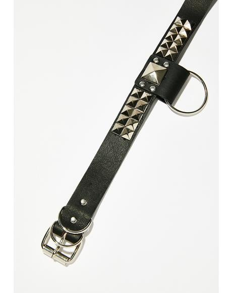 Tough Love Studded Choker