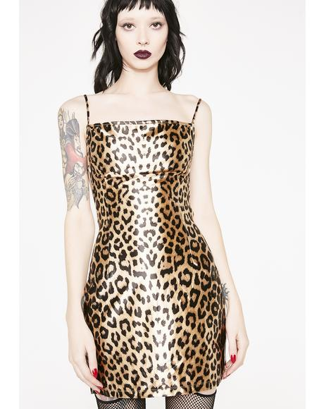 Chase Me Down Cheetah Dress