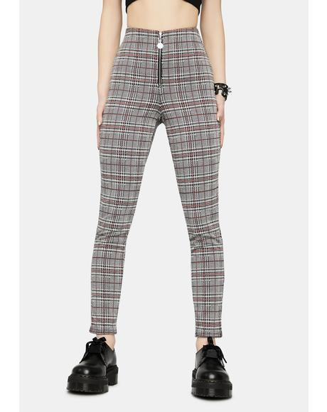 Love To Love You Plaid Pants