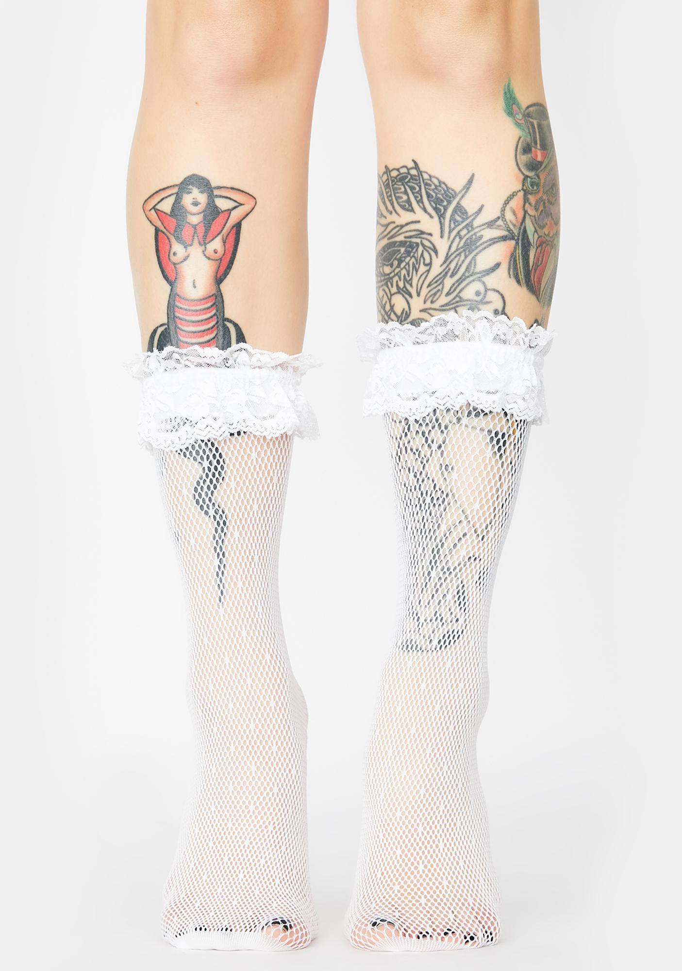 Pure Delight Fishnet Socks
