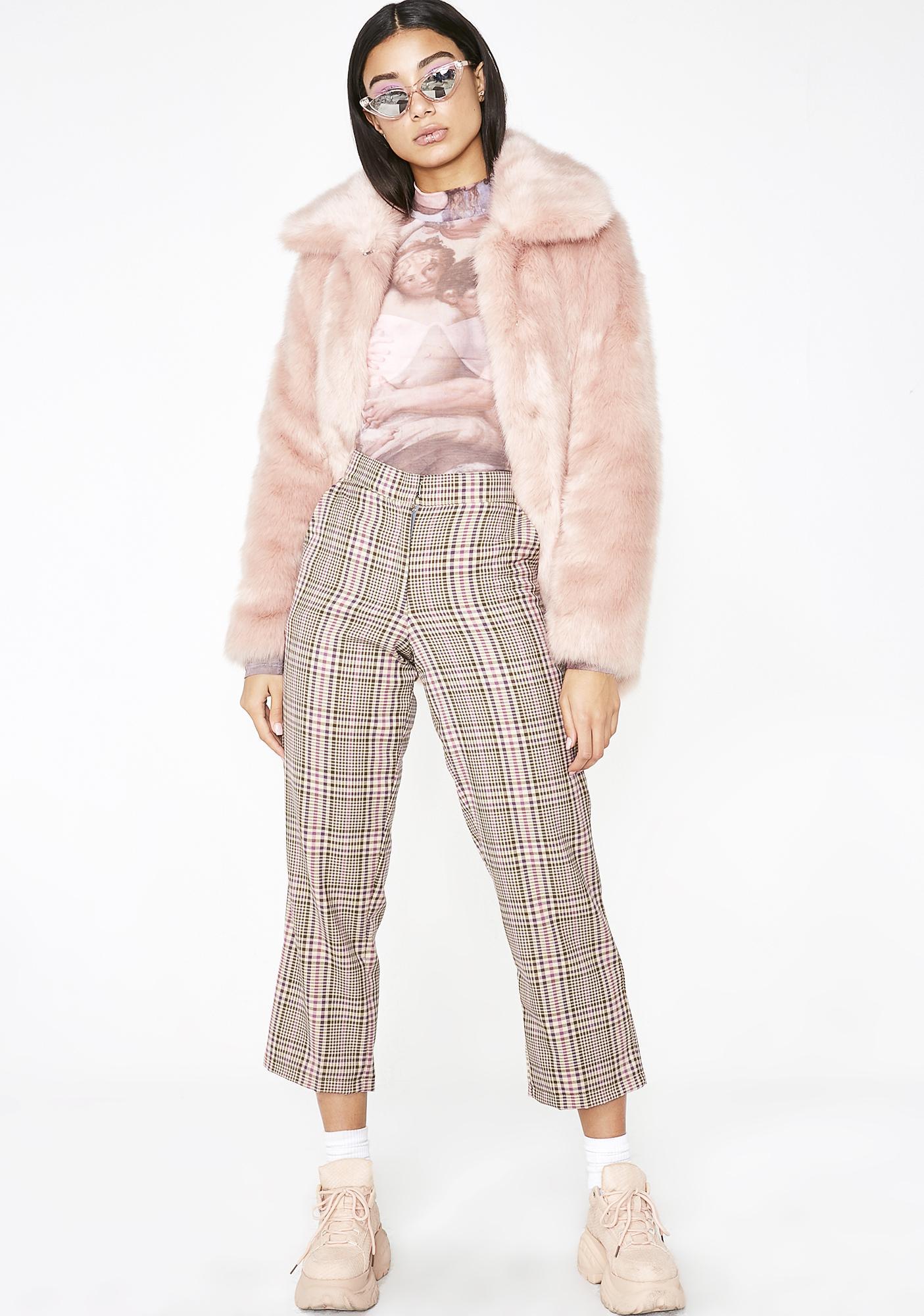 Tach Clothing Lorna Plaid Pant