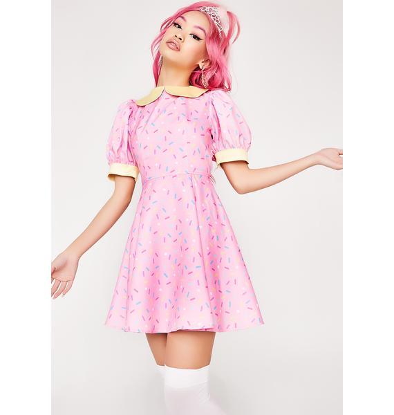 Chrissa Sparkles Sprinkles On Top Dress