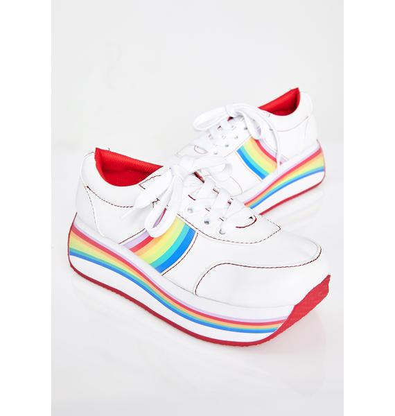 dELiA*s by Dolls Kill New Element Platform Sneakers