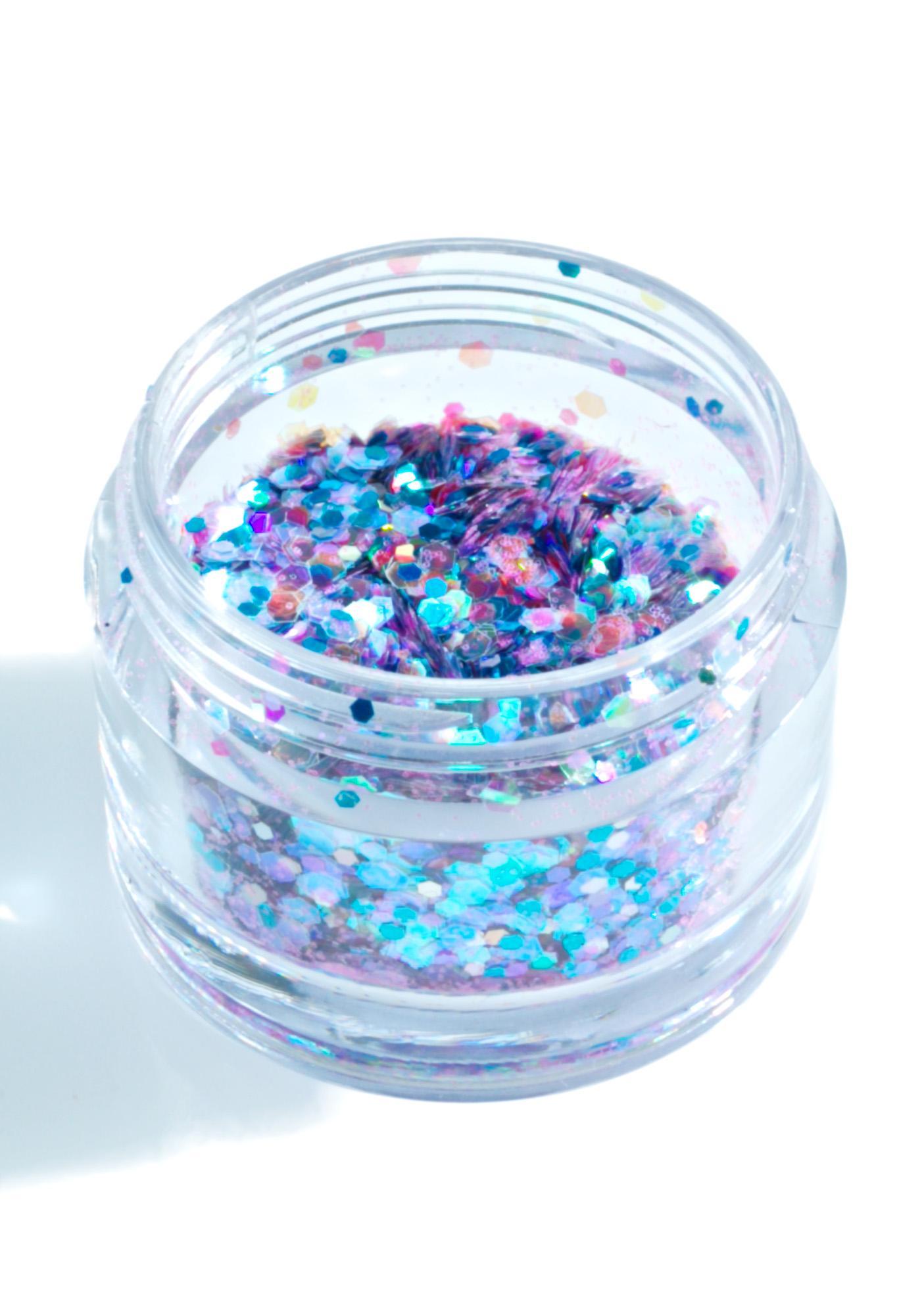 In Your Dreams Purple Unicorn Chunky Glitter