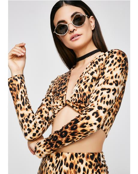Purrfect Ten Crop Top