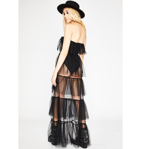 Join The Coven Ruffled Dress