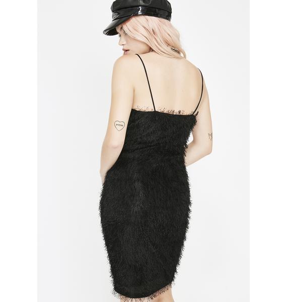 Pick Me Up Fuzzy Dress