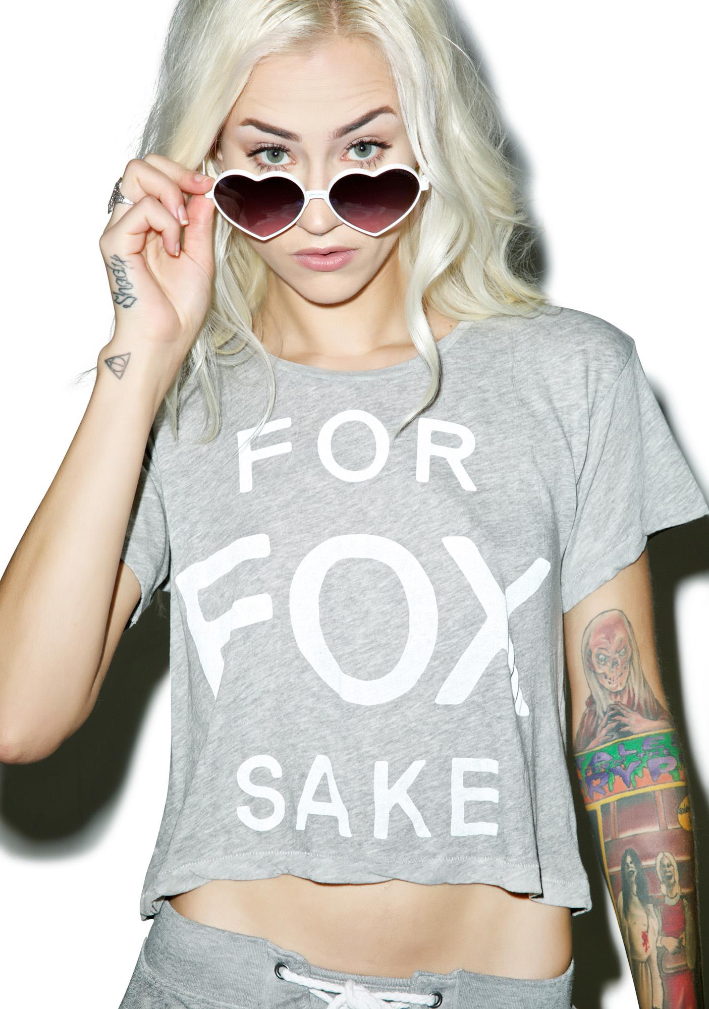 Wildfox Couture For Fox Sake Middie Tee