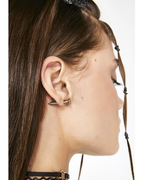 Freaky Chopped N' Screwed Earrings