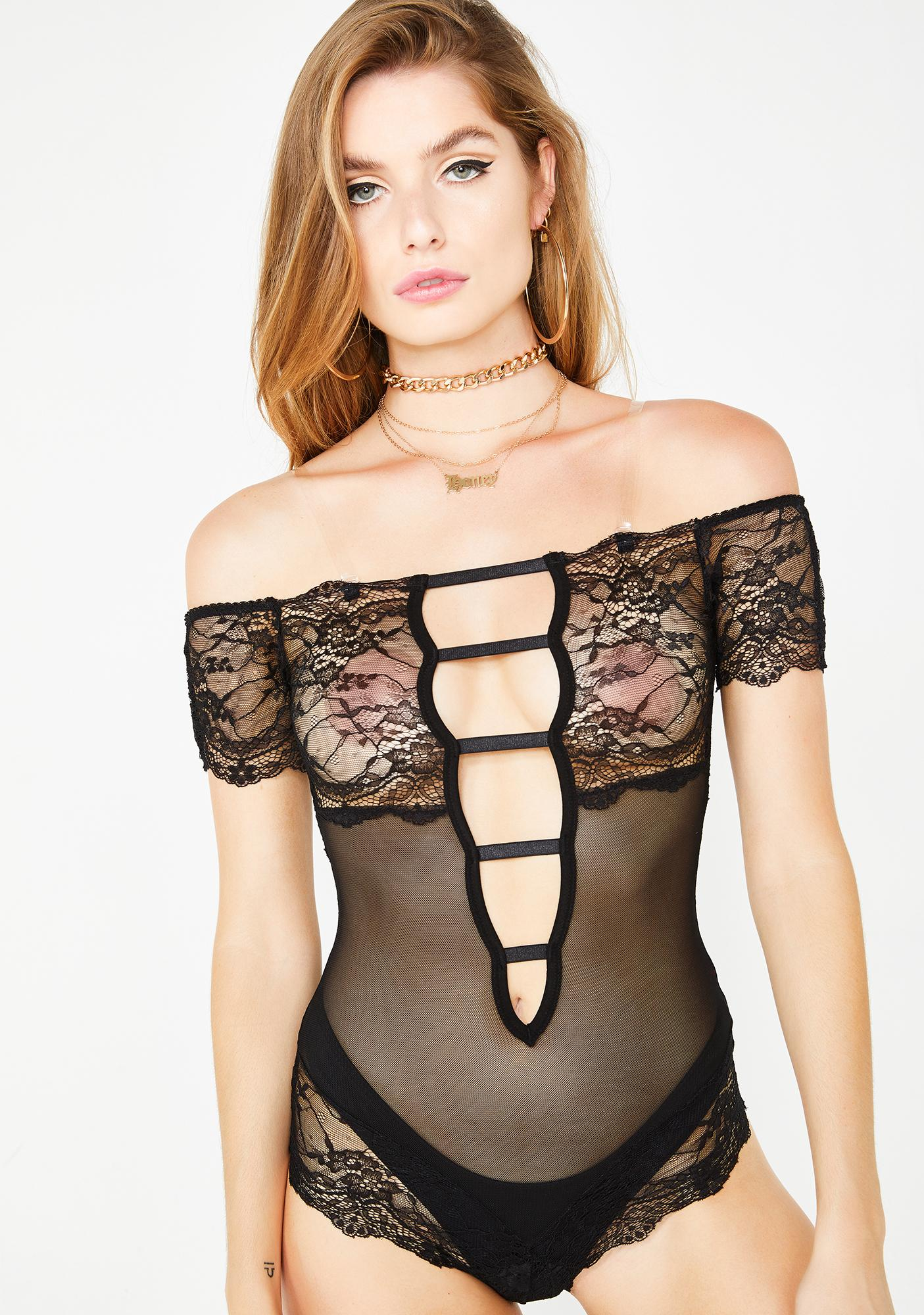 French Kiss Sheer Teddy