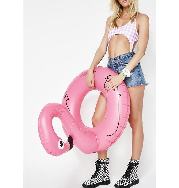 Float N' Flamingle Pool Float