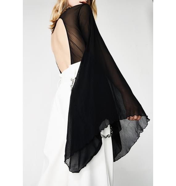 Bad Romance Bell Sleeve Bodysuit