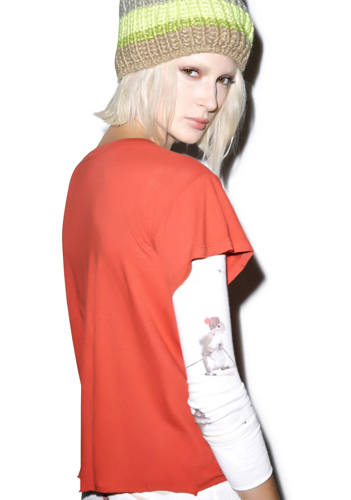 Wildfox Couture Pocket Fox Romeo Tee