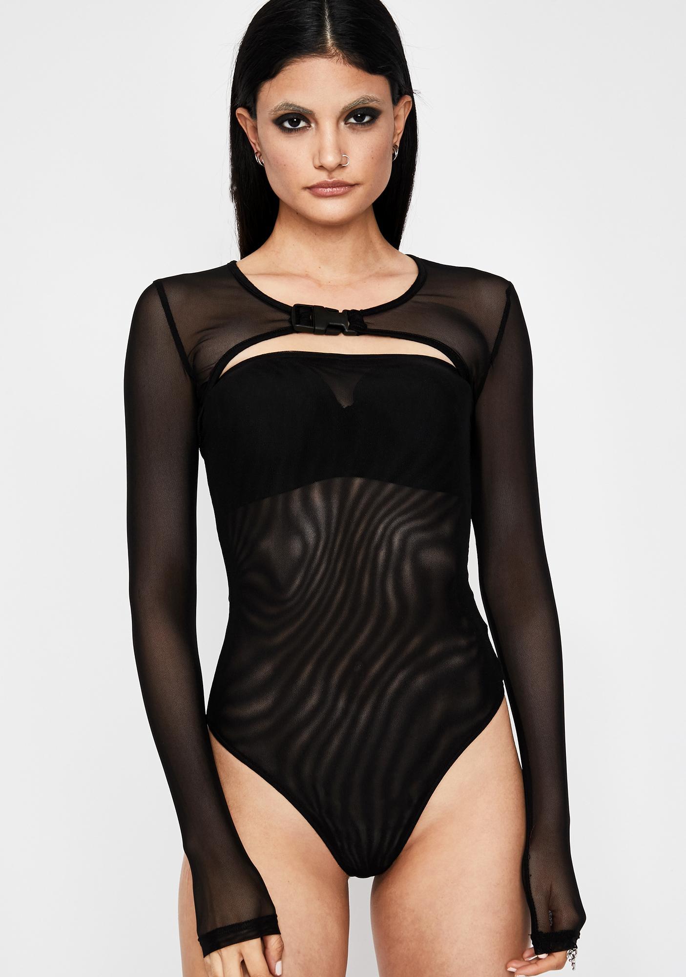 Straight Savage Sheer Bodysuit