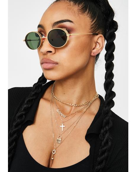 I'm Ur Babygirl Layered Necklace