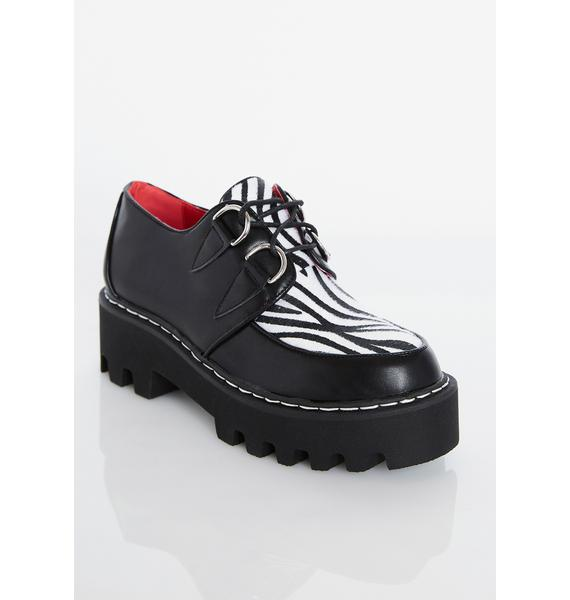 Lamoda Monster Mash Platform Creepers