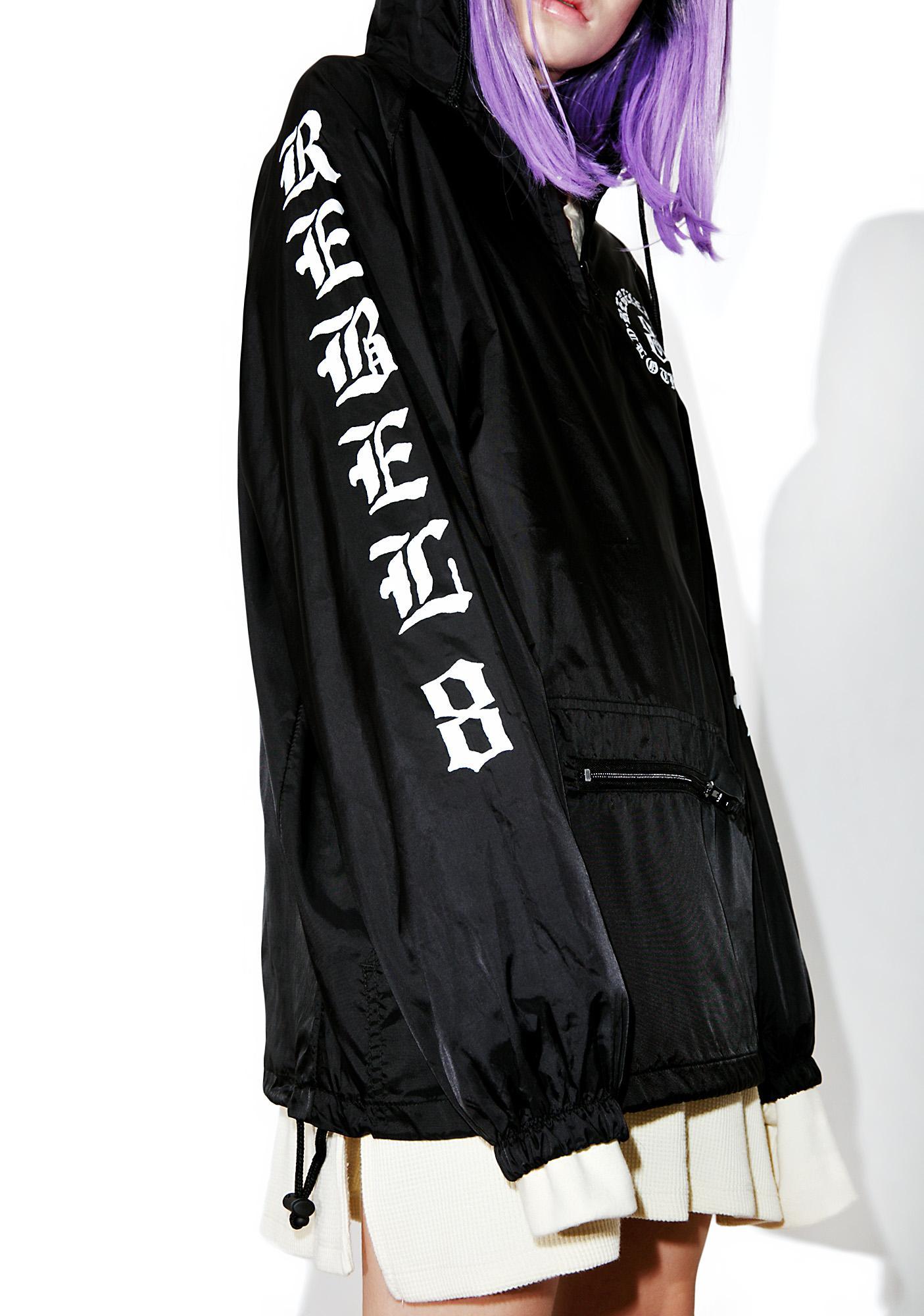 Rebel8 Immortals Black Anorak