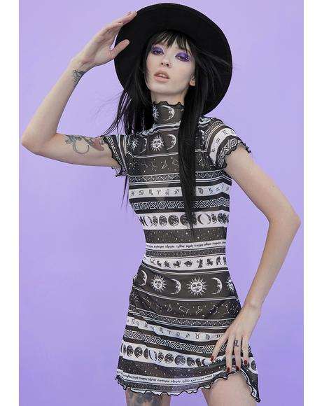 Divine Dreamcatcher Mesh Dress