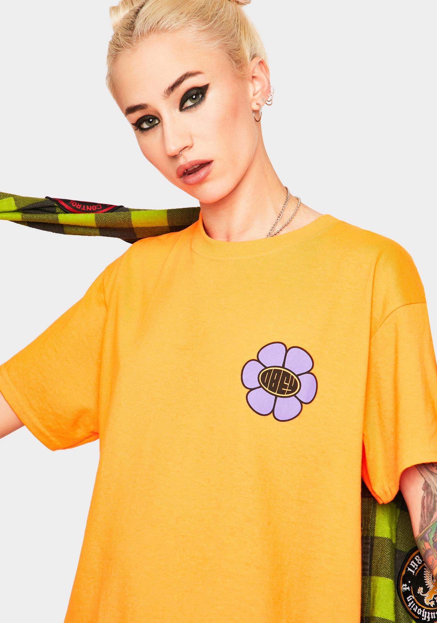 Obey Daisy Ave Graphic Tee