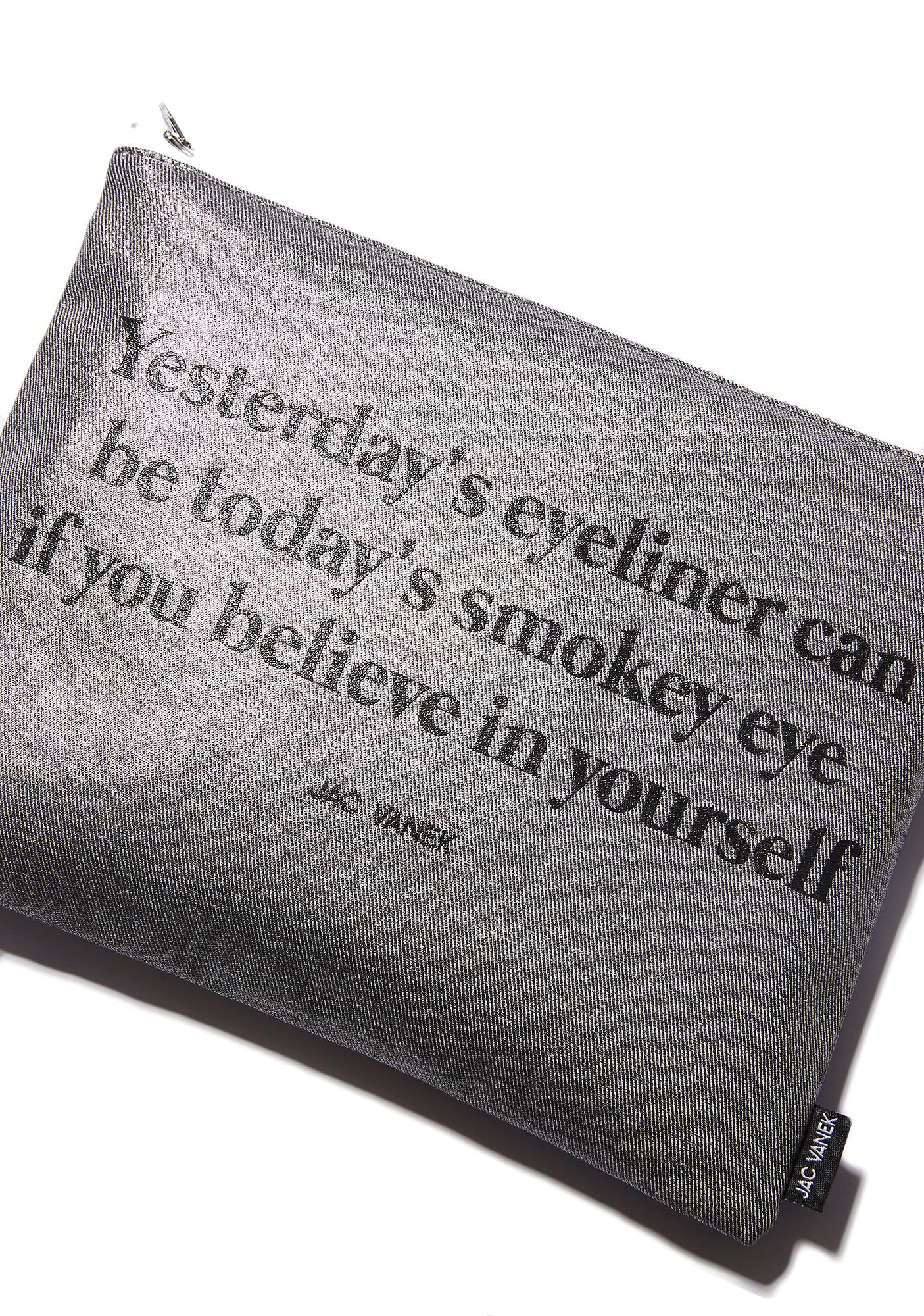 Jac Vanek Believe In Yourself Zip Pouch