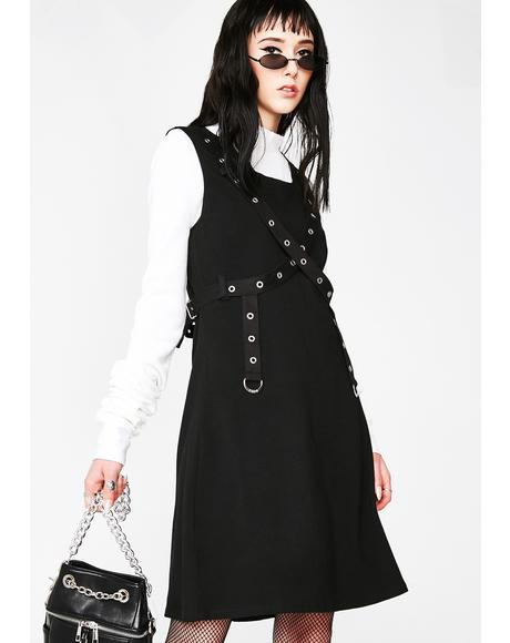 Grommet Dress