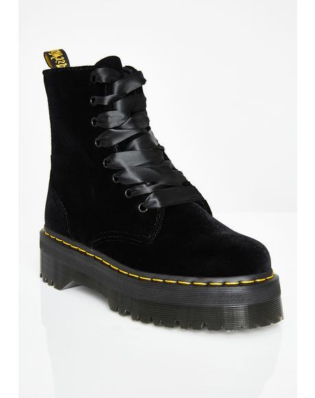 Jadon Velvet Boots
