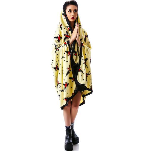 Sourpuss Clothing Sparrow Blanket Throw