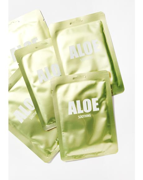Aloe Soothing Mask Set of 5