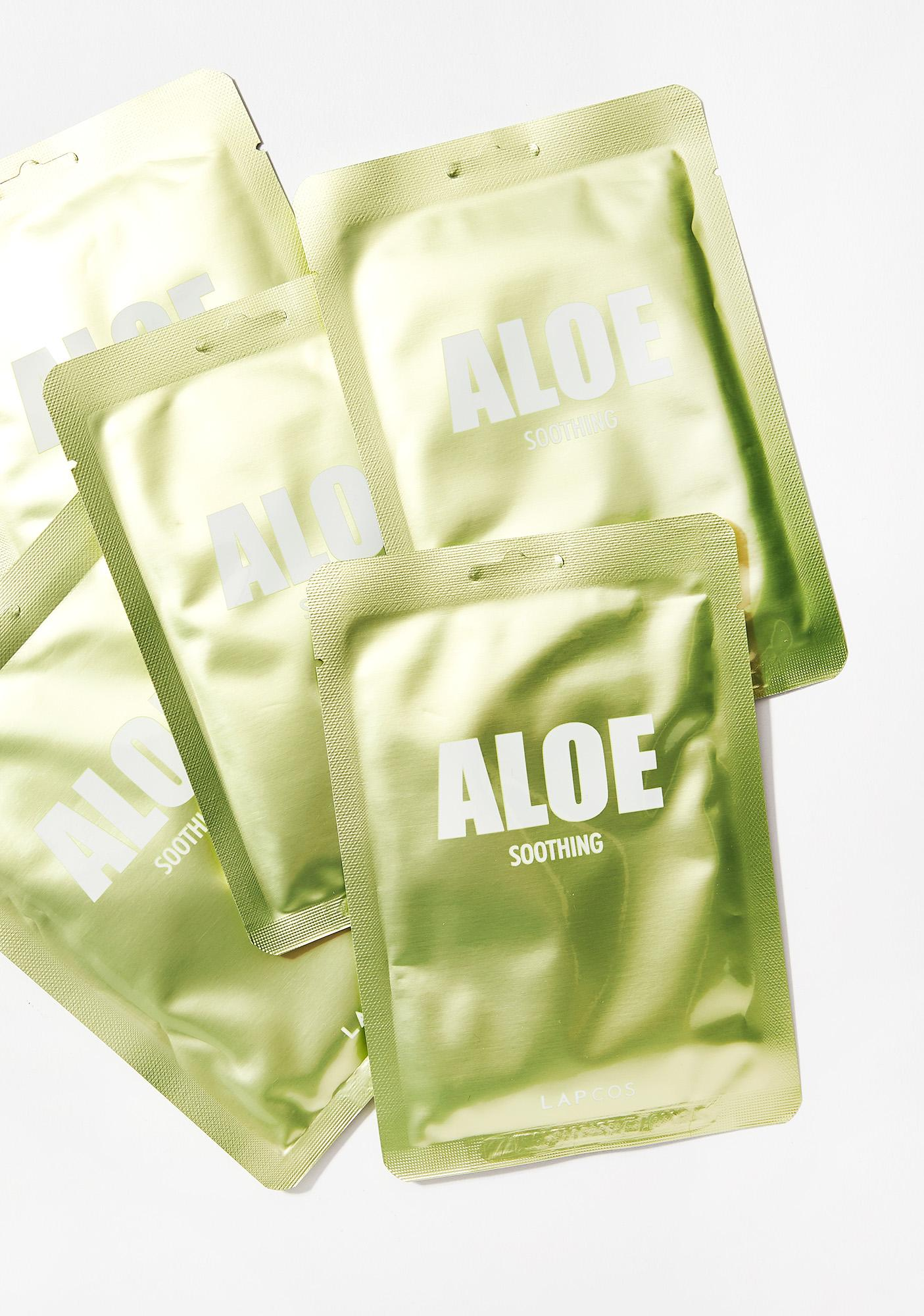 LAPCOS Aloe Soothing Mask Set of 5