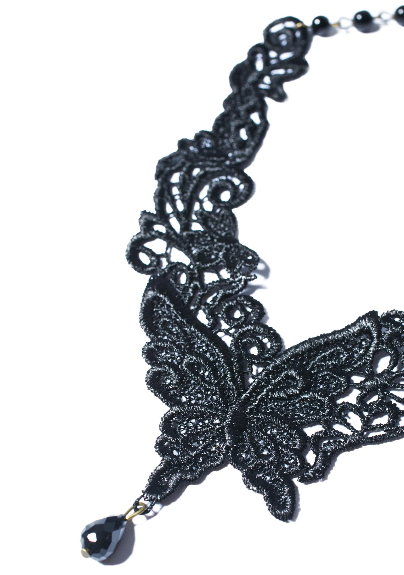 Belladonna Lace Necklace