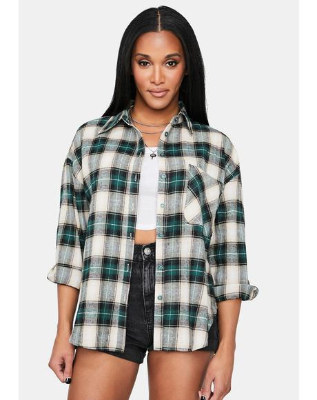 Hunt You Down Flannel Shirt