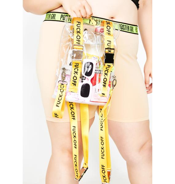 Poster Grl Clearly Street Hype Backpack
