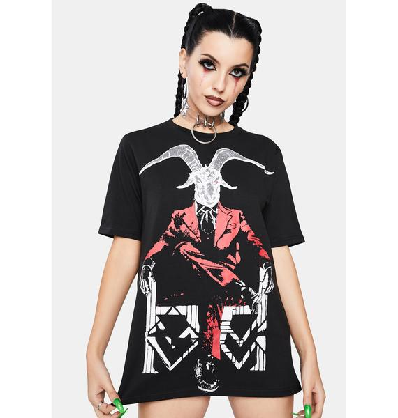 Dr. Faust Modern Day Lucifer Graphic Tee