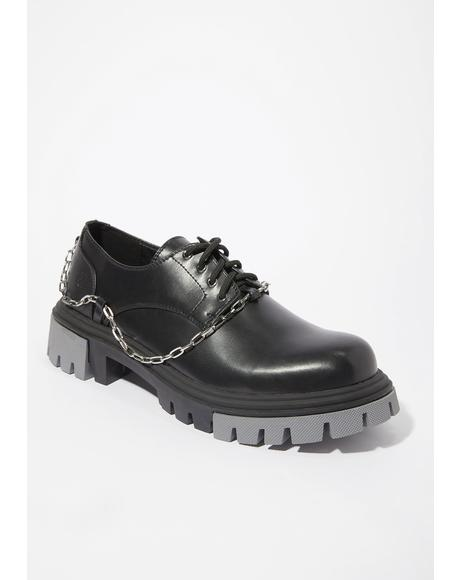 Halcyon Chain Oxfords