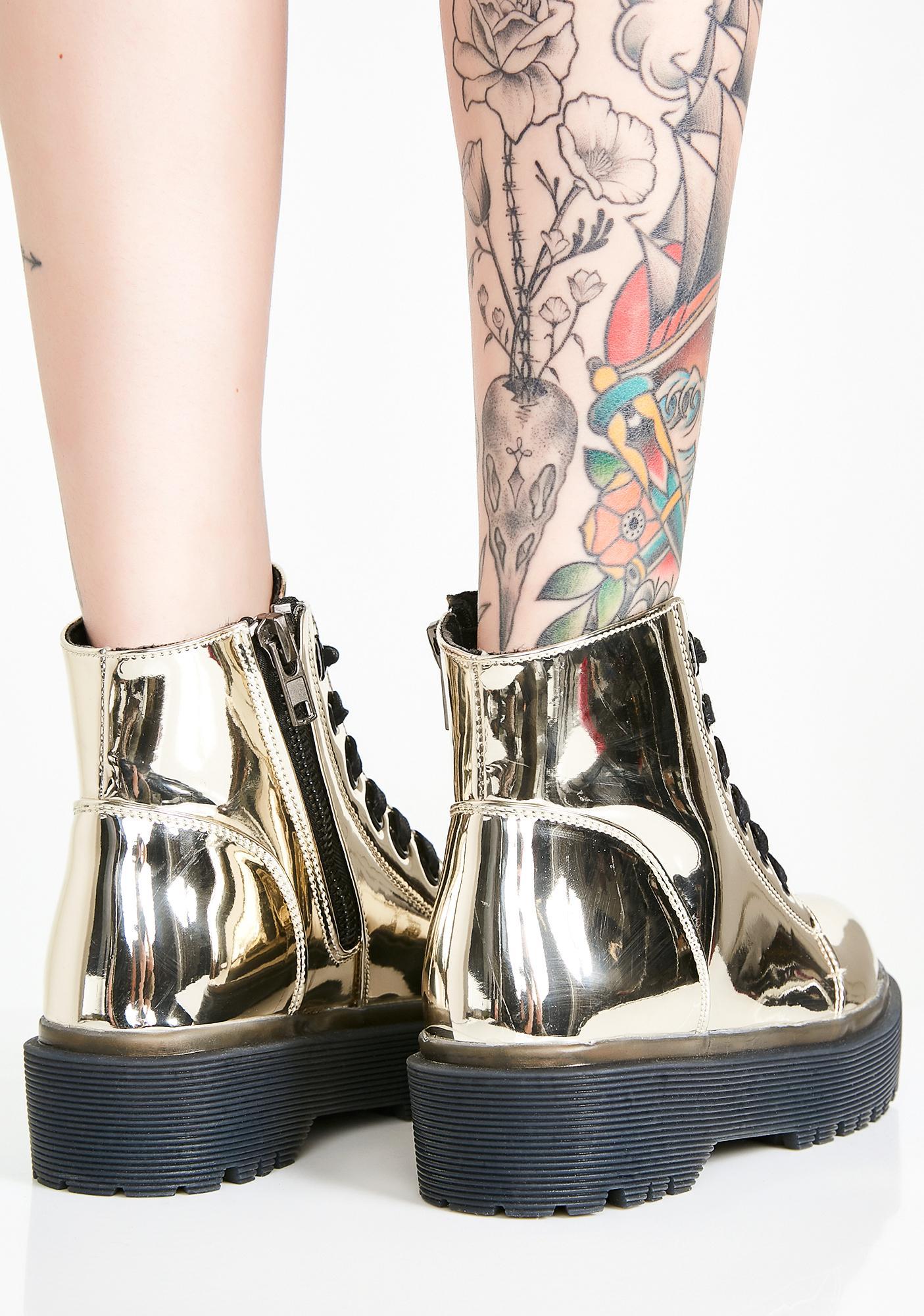 Y.R.U. Chrome Slayr Boots