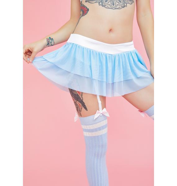 Sugar Thrillz Shining Sea Garter Skirt