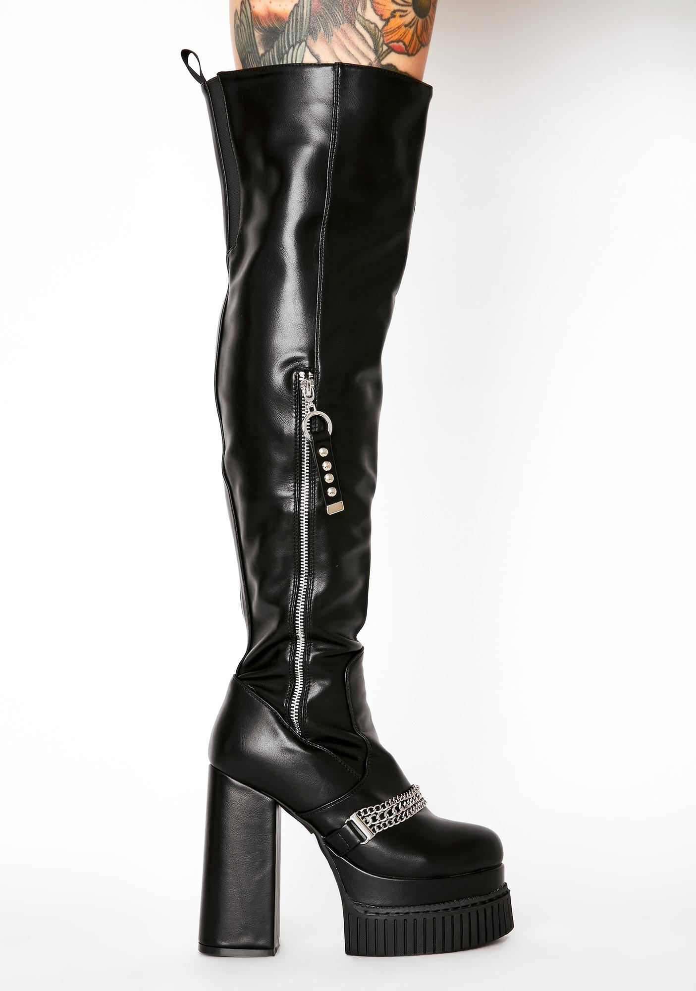 Lamoda Game Changer Thigh High Boots