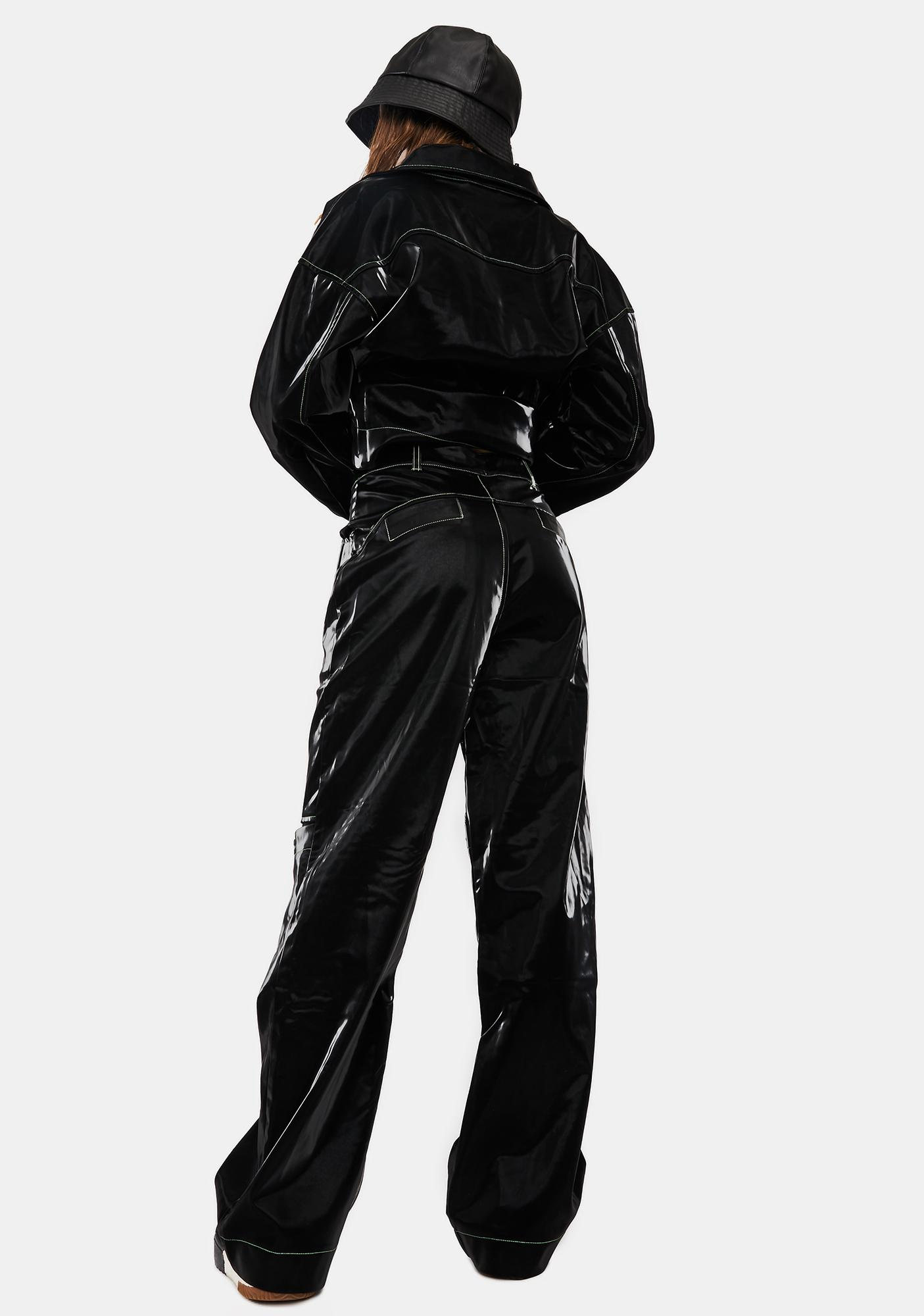Somewhere Nowhere Rebel Faux Leather Trousers