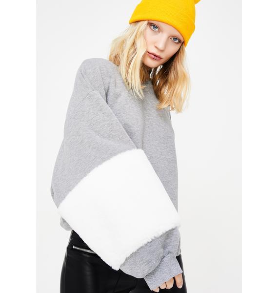 Fur Real Sweatshirt