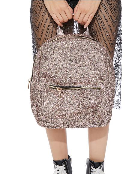 Flash Mob Sparkly Backpack