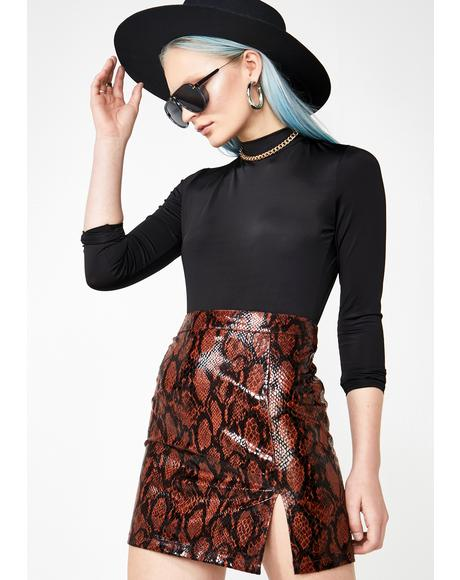 Dangerous Desire Snake Skirt