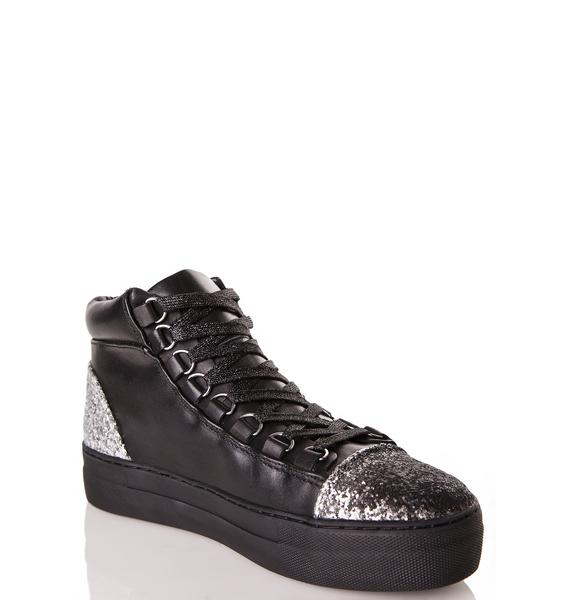 E8 by Miista Adisa Sparkly Sneakers