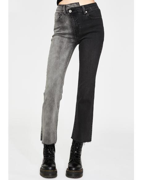 Modern Love Lennon Crossover Jeans