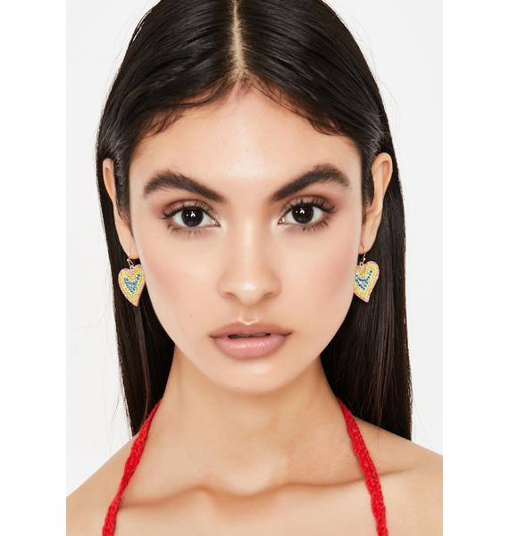 Luminous Lova Rhinestone Earrings