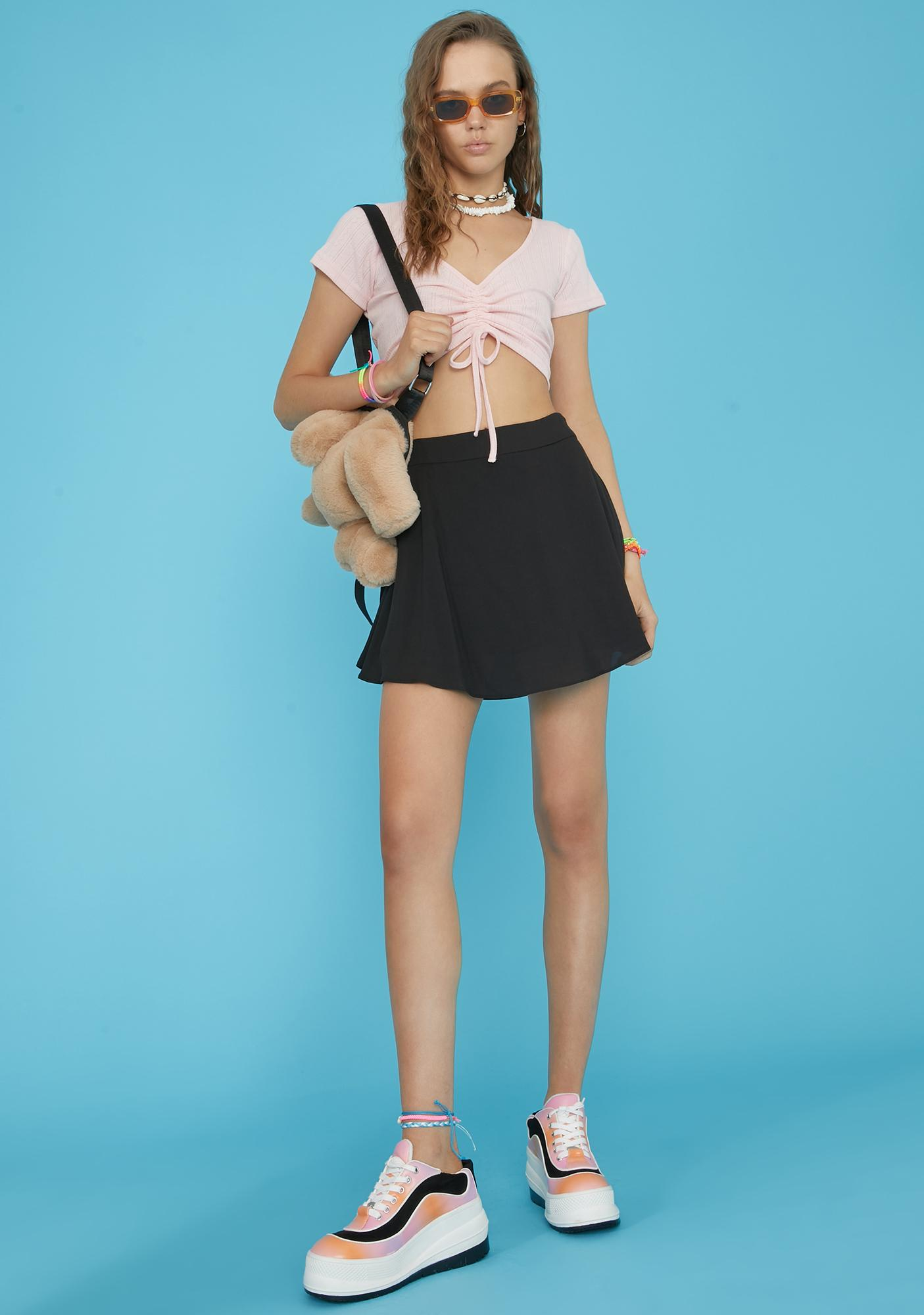 dELiA*s by Dolls Kill Sunset Summer Breeze Crop Top