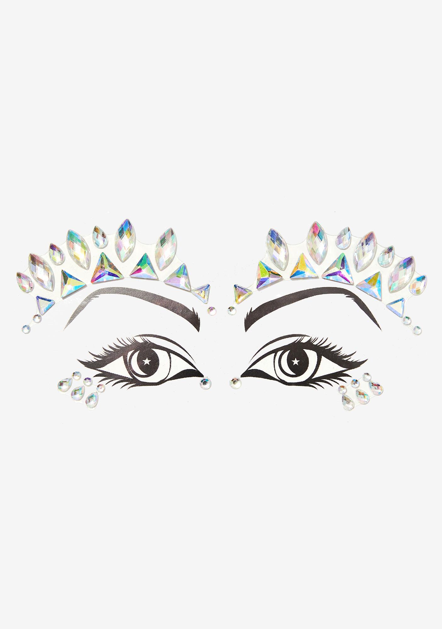 Lunautics Nefertiti Cosmic Face Crystals