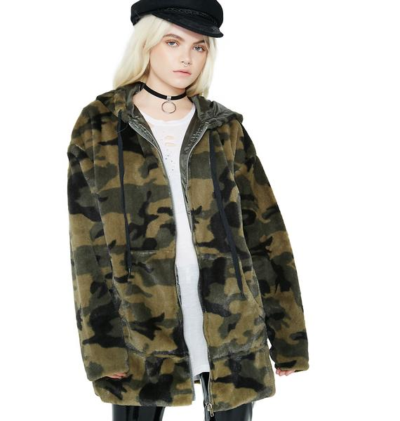Into The Wild Camo Hoodie